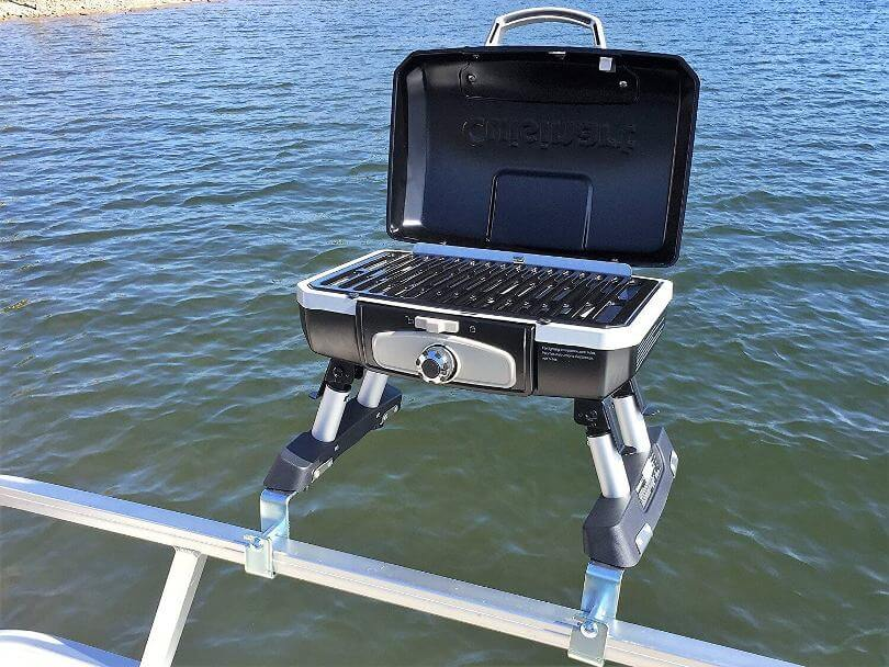 Cuisinart Pontoon Grill - Cuisinart Grill With Arnall's Brackets