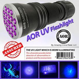 AOR Flashlights UV Blacklight Flashlight