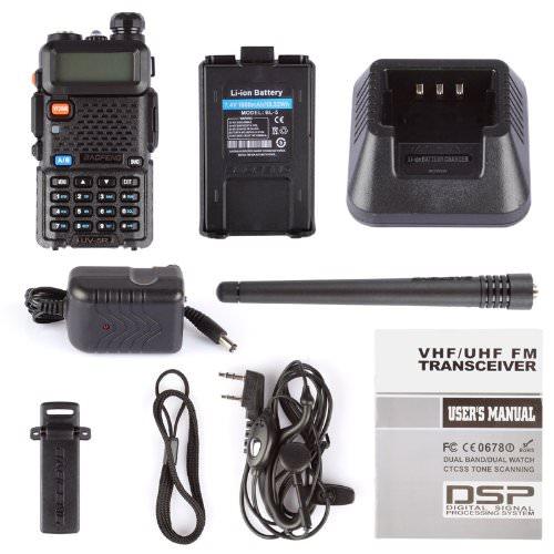BaoFeng UV5R Dual-Band Two-Way Radio
