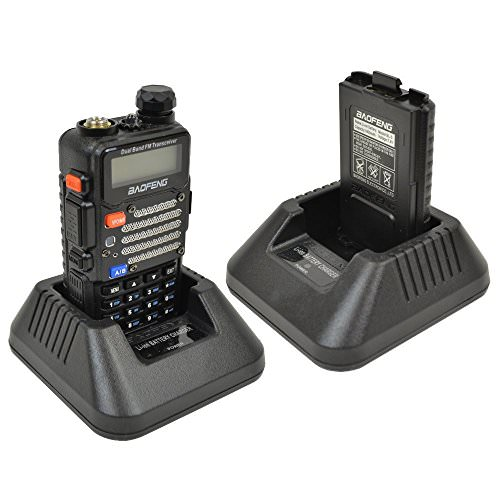 Baofeng UV-5R V2+ Dual-Band Two-Way Radio