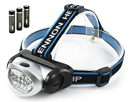 Best LED Headlamp Flashlight w/ FREE Batteries. Great For ...