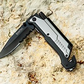 BlizeTec Survival Knife Pocket Folding Knife