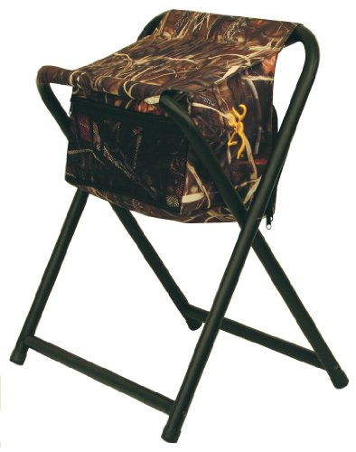 Browning Camping SteadyReady Hunting Stool With Insulated Cooler Bag   CAMP  STUFFS