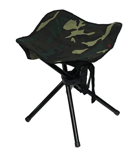 Camouflage Foldable Four Legs Stool By Ntk Brand