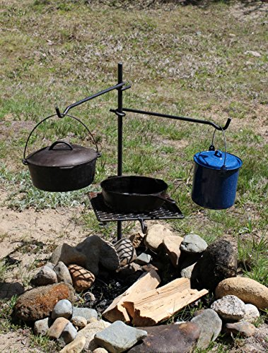 Granite Campfire Pole Cooker