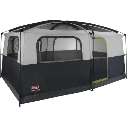 Coleman Prairie Breeze  Person Cabin Tent Black and Grey Finish