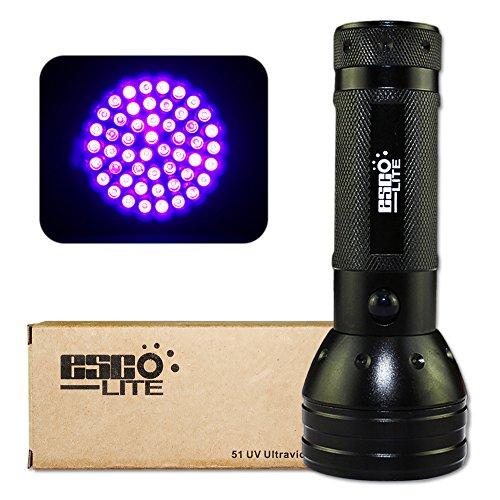Esco Lite  nM  UV Ultraviolet LED flashlight Blacklight  AA Battery