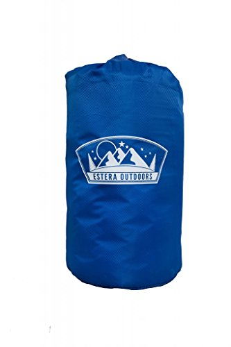 Estera Outdoors lightweight self inflating foam mat camping sleeping pad