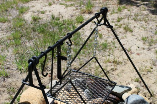 Frontier Campfire cooker BBQ cooking grill