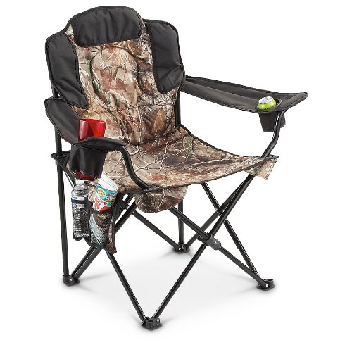 Surprising Guide Gear 500 Lb King Camp Chair Camo Camp Stuffs Andrewgaddart Wooden Chair Designs For Living Room Andrewgaddartcom