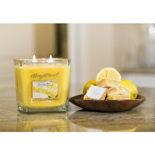 harry and david lemon bar candle