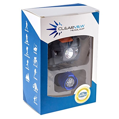 LED Headlamp Combo Complete Set. Best Super Bright Cree Headlight Flashlight. Lifetime Guarantee. Front & Back Lightweight, Comfortable. Water Resistant In/Outdoor Adjustable White Red Strobe SOS Light. Ideal for Camping, Cycling, Running, Hunting, Hiking.