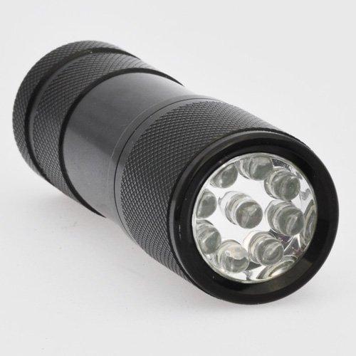 Ledwholesalers  Nm Uv Ultra Violet Blacklight Flashlight  Aaa uv