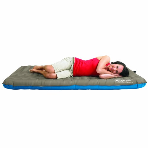 Lightspeed Outdoors  Person PVC Free Air Bed with Battery Operated Pump