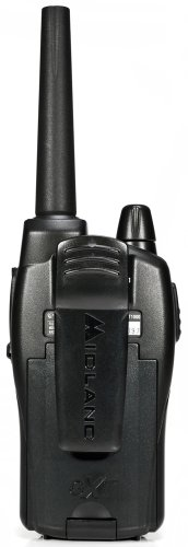 Midland GXTVP  Mile  Channel FRSGMRS Two Way Radio Pair BlackSilver