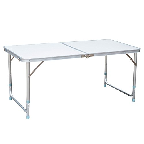 Amazing Outsunny Aluminum Camping Folding Camp Table W Carrying Gmtry Best Dining Table And Chair Ideas Images Gmtryco