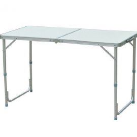Outsunny Aluminum Camping Folding Camp Table w/ Carrying Handle