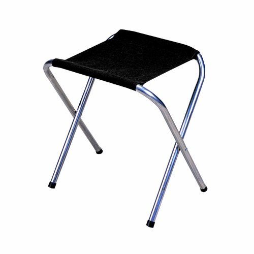 Stansport Folding Camp Stool Black 16 X 14 Inch Camp