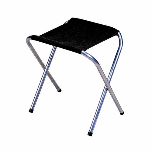Stansport Folding Camp Stool Black   Inch