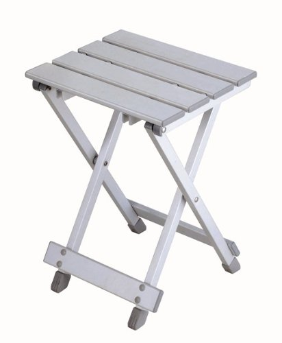 Stylish Camping ST  Easy fold Aluminum Side Table or Stool