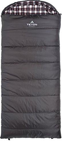 TETON Sports Fahrenheit Regular F COTTON Flannel Lined Sleeping Bag