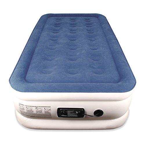 Twin Sized SoundAsleep Dream Series Air Mattress with ComfortCoil Technology Internal High Capacity Pump  MODEL