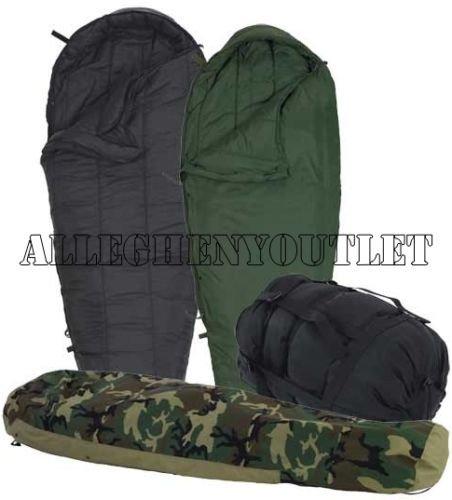 Us Military  Piece Modular Sleeping Bag Sleep System Wgortex Bivy Excellent