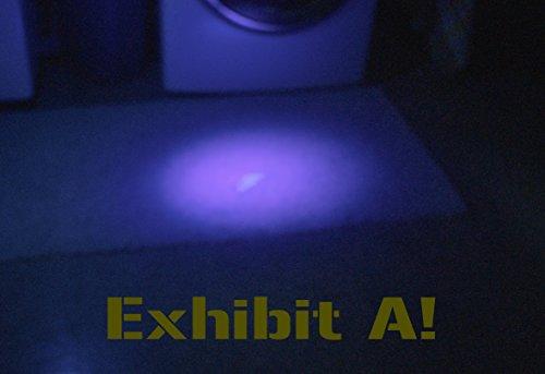 Uv Black Light 395nm Ultra Rugged Ultraviolet Flashlight 41 Led
