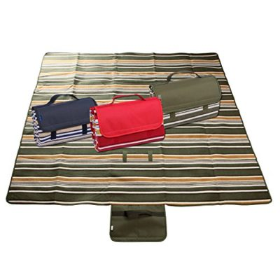 Yodo-Picnic-Water-Resistant-Outdoor-Camping-Blanket-ToteStripe-0