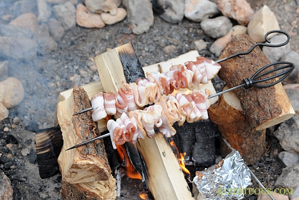 Campfire Bacon Recipe | Campstuffs