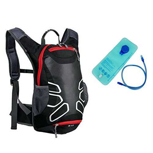 Angelbubbles MTB Bike Bicycle Cycling Riding Running Camping Hiking Waterproof Outdoor Backpack Hydration Pack with  Liter TPU Free Bladder