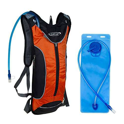 GFree Sports Trail Runner Hydration Pack Cycling BackPack with L Bladder Great for Hiking Running Biking
