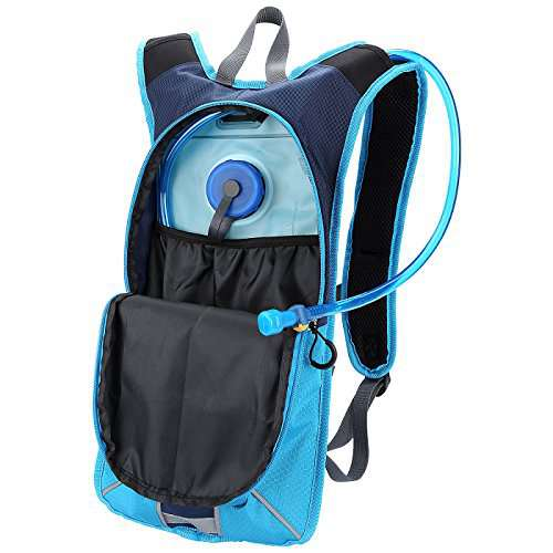 2L Water Bladder Bag Backpack Cycling Bicycle Hiking Camping Hydration Pack