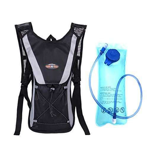 Hydration Pack Water Rucksack Backpack Bladder Bag Cycling Bicycle BikeHiking Climbing Pouch L Hydration Bladder