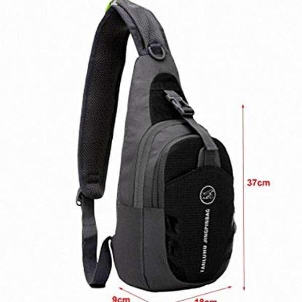 LC-Prime-Chest-Bag-Shoulder-Sling-Unbalance-Backpack-Satchel-Outdoor-Travel-Bike-0-0
