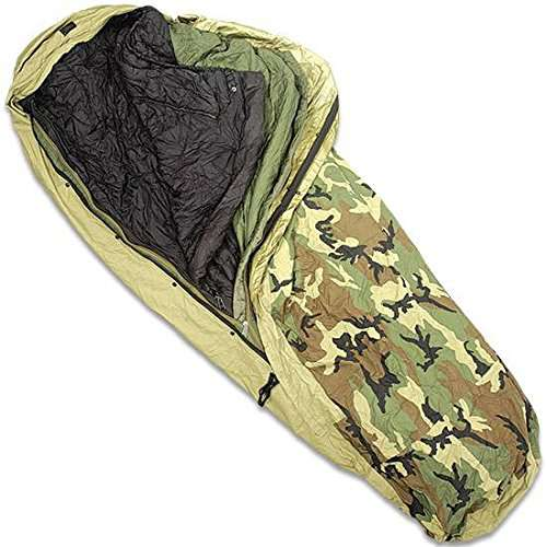 Military Modular Sleep System  Piece with Goretex Bivy Cover and Carry Sack