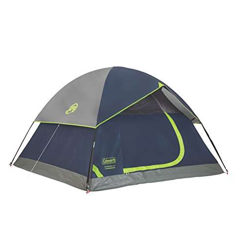 Sundome  Person Tent Green and Navy color options