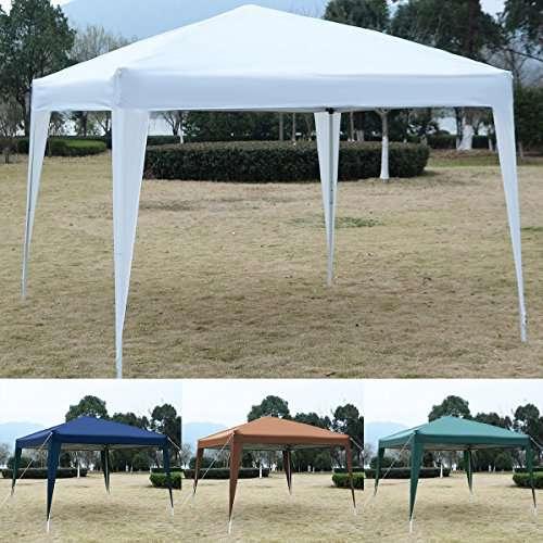 Tangkula Tent & Tangkula Tent 10 x 10 EZ POP UP Canopy Party Tent - CAMP STUFFS