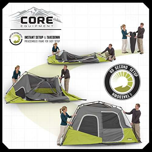 CORE 6 Person Tent Instant Cabin Core Tents