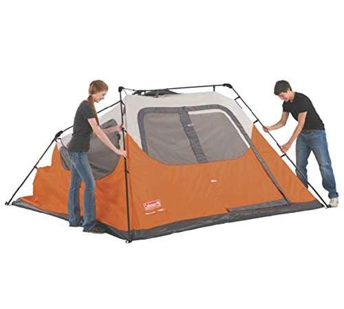 Coleman Waterproof ...  sc 1 st  C&stuffs & Coleman Waterproof 10 X 9-Feet 6-Person Instant Tent Orange ...