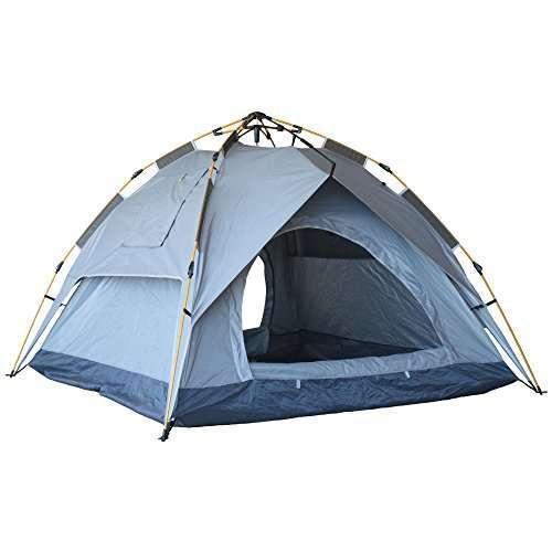Eagletail Outdoor Instant Tent ...  sc 1 st  C&stuffs & Eagletail Outdoor Instant Tent with Canopy; 3-Person Automatic ...