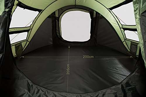 FiveJoy ... & FiveJoy 4-Person Instant Pop-Up Tent - Automatic Setup in Seconds ...