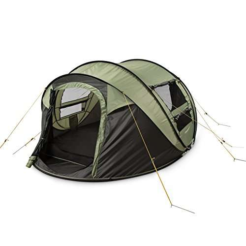 FiveJoy 4-Person Instant ...  sc 1 st  C&stuffs & FiveJoy 4-Person Instant Pop-Up Tent - Automatic Setup in Seconds ...