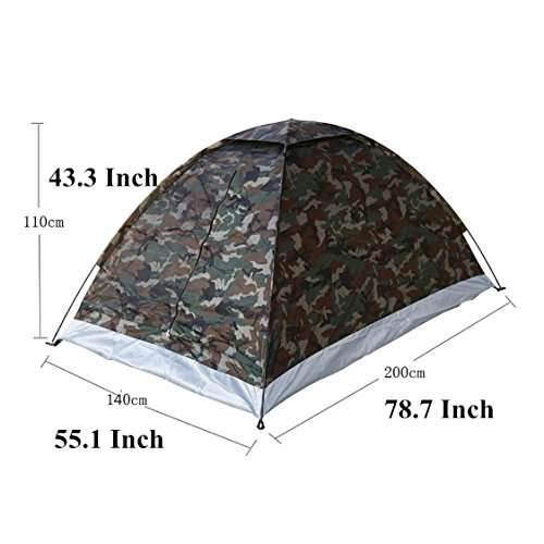 LifeVC® Ultralight C&ing Tent for 2 Person ...  sc 1 st  C& Stuffs & LifeVC® Ultralight Camping Tent for 2 Person With Carry Bag ...