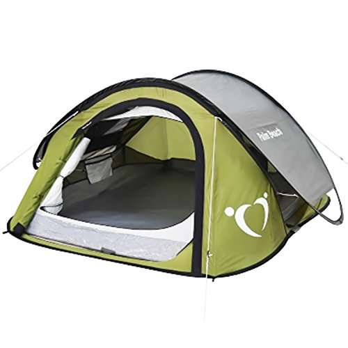 Ainfox Outdoor 2 Person Hiking C&ing Pop Up Tent 3 ...  sc 1 st  C&stuffs & Ainfox Outdoor 2 Person Hiking Camping Pop Up Tent 3 Seasons ...
