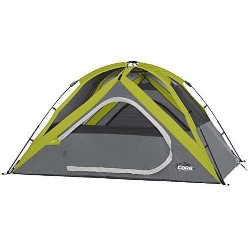 CORE 4 Person Instant Dome Tent - 9' x 7'