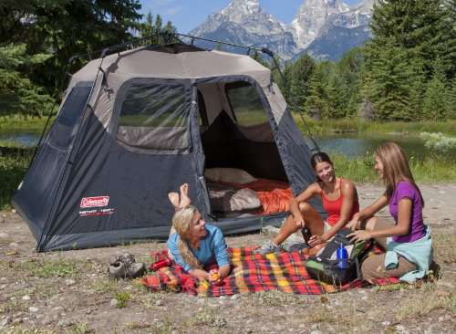 new arrival 2bf42 8f2bf Coleman 6-Person Instant Cabin Tent - Camp Stuffs