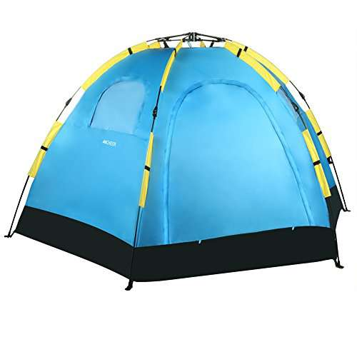 Portable Dome Tents : Gracelove person dome tent automatic pop up camping
