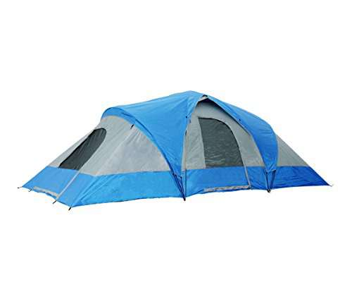 Semoo Water Resistant  Person  Room Family Tent with Large D style Door for CampingTraveling