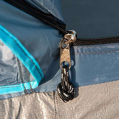 Timber Ridge Family Tent for Camping with Carry Bag  doors  Rooms
